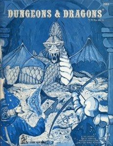 Basic rules for Dungeons & Dragons (the blue box).