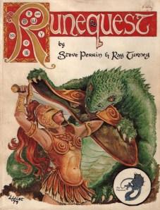 Early Runequest rule book