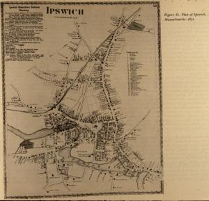 1872 Ipswich map