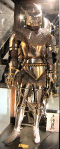 Half-plate armor from Agincourt