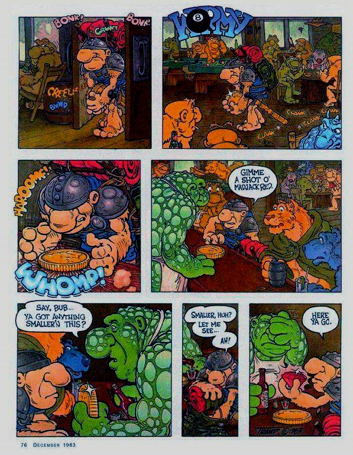 Lake sturgeon comic strip