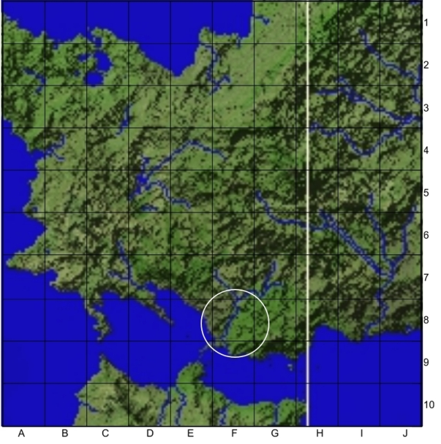 Western Anthavar regional map