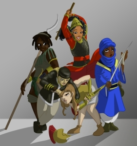 The Amazons from Rejected Princesses