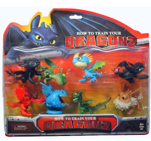 how to train your dragon 2 figures
