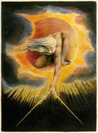 William Blake's illustration of Prophecy
