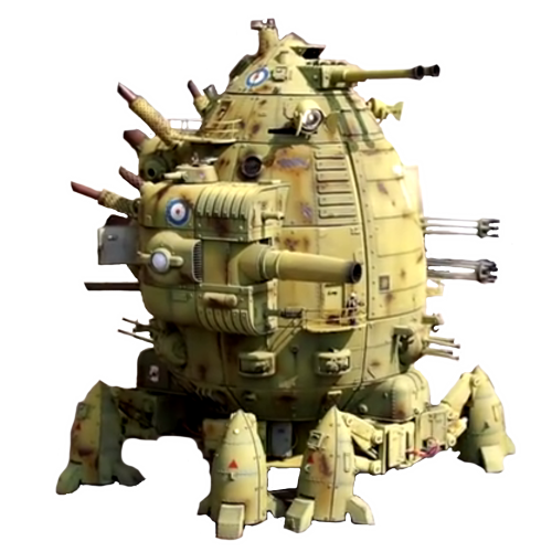 Codename Colossus (a walking fortress)