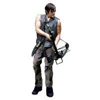 Daryl from Walking Dead, with Crossbow