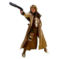 Woman with shotgun in duster