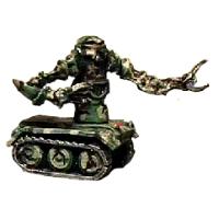 Jungle patrol robot
