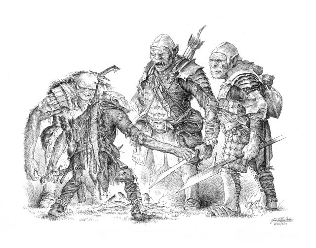 orcs_debate_by_turnermohan-d8jo68t