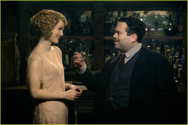 Queenie & Jacob, two loveable characters