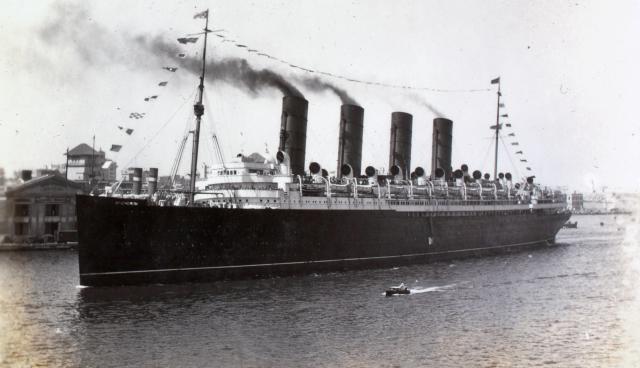 HMS Mauretania