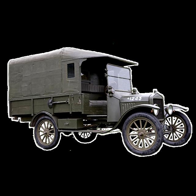 Truck from the First World War
