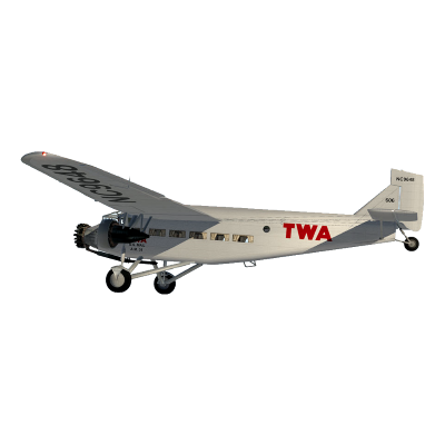 Ford Trimotor with TWA markings