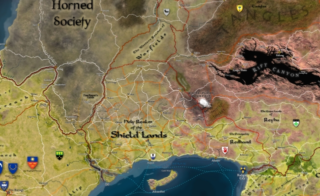 Shield Lands, 540 CY